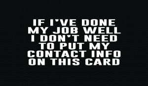 What if you didn't need a business card?