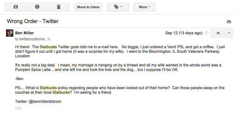 starbucks email 1